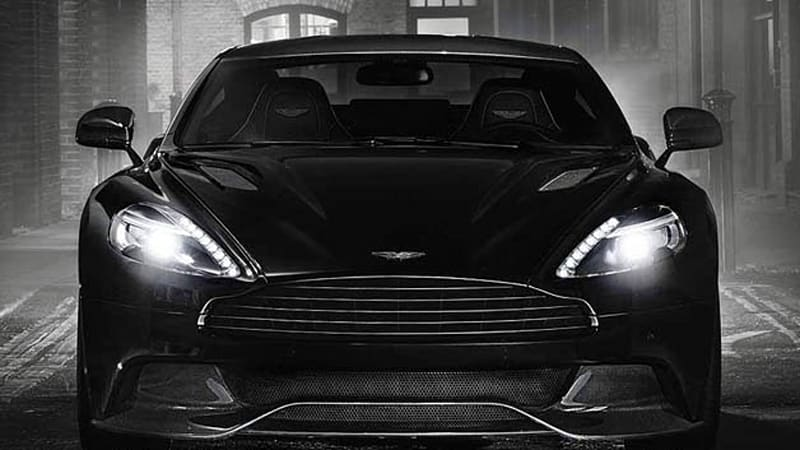 Aston Martin blacks out new Vanquish Carbon Edition [w/video]