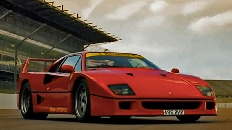 Xcar goes analog with the Ferrari F40