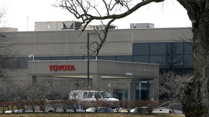 Toyota makes $1.33 billion investment in Kentucky plant