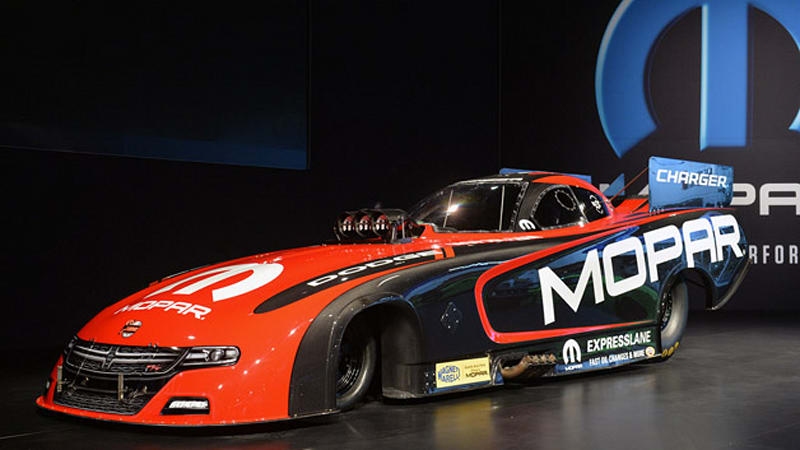 Dodge Charger R/T NHRA Funny Car is ready to burn rubber at SEMA [w/video]