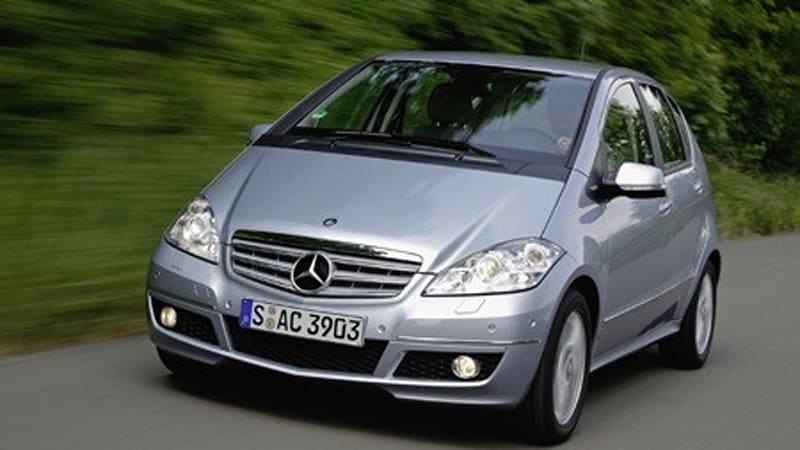 mercedes benz introduces new 52mpg a 160 cdi blueefficiency autoblog. Black Bedroom Furniture Sets. Home Design Ideas