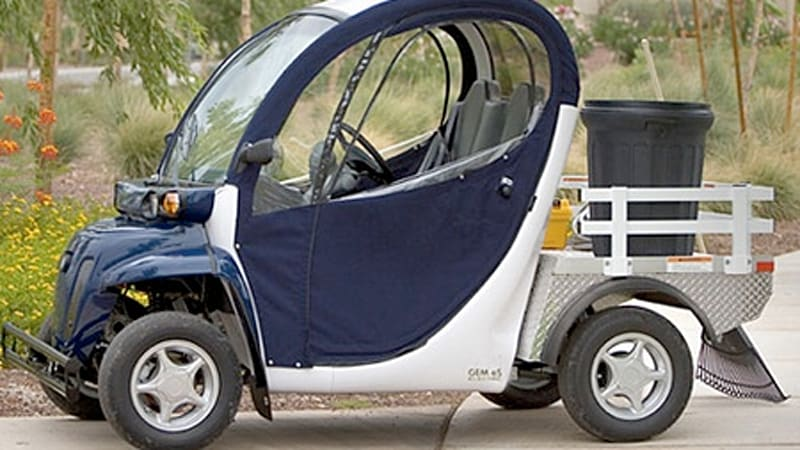 What is a neighborhood electric vehicle (NEV)? - Autoblog