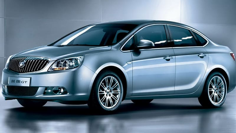 Buick Excelle GT sedan debuts in China, U.S. version expected next year - Autoblog