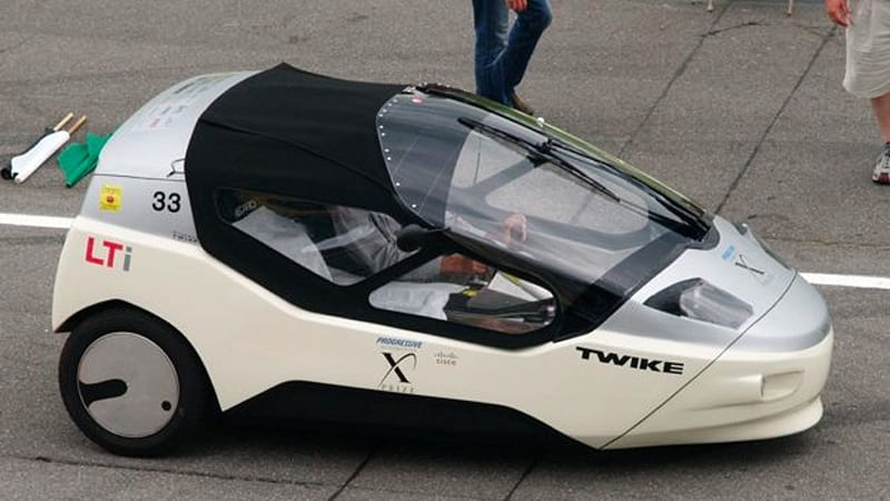 Automotive X Prize Tw4xp Evolves Human Hybrid Twike Three