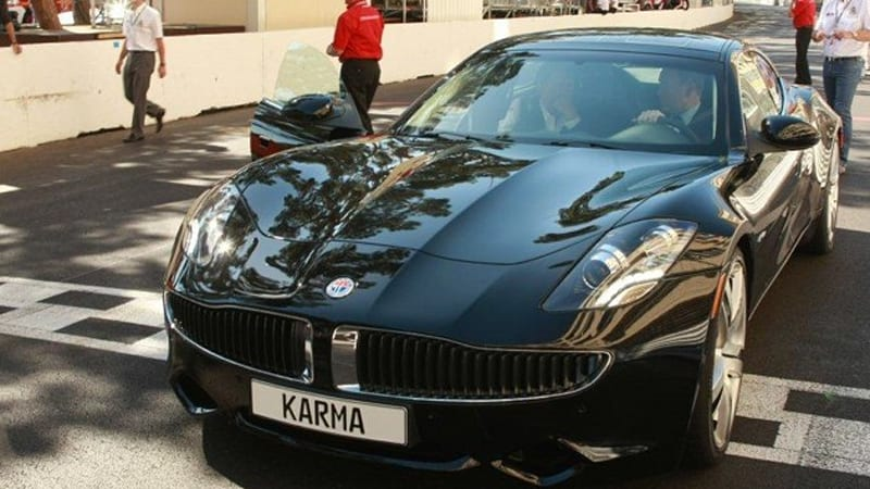 fisker karma goes for a spin at monaco grand prix autoblog. Black Bedroom Furniture Sets. Home Design Ideas