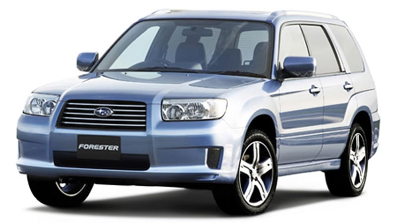 today in japan subaru forester airbreak autoblog. Black Bedroom Furniture Sets. Home Design Ideas