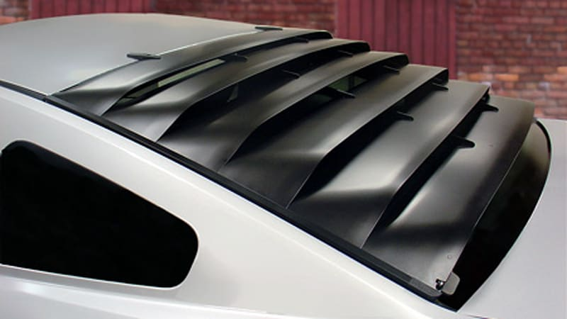 Window Louvers For Mustang