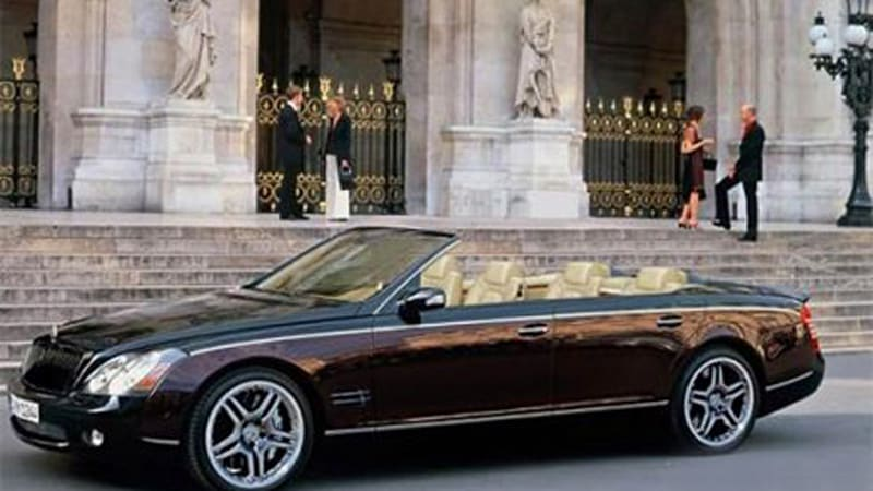 maybach expansion may include convertible suv mercedes maybach p