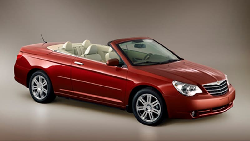 chrysler sebring convertible pricing announced autoblog. Cars Review. Best American Auto & Cars Review