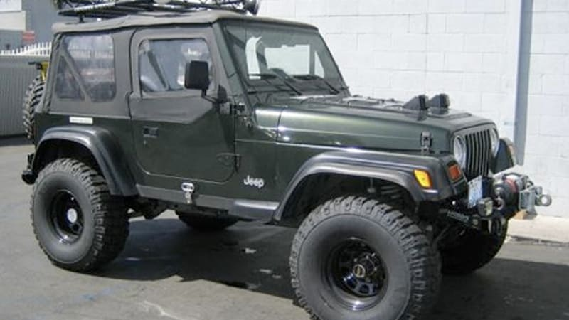 Ebay Find Of The Day   U0026 39 97 Jeep Wrangler With Corvette Ls1 Power