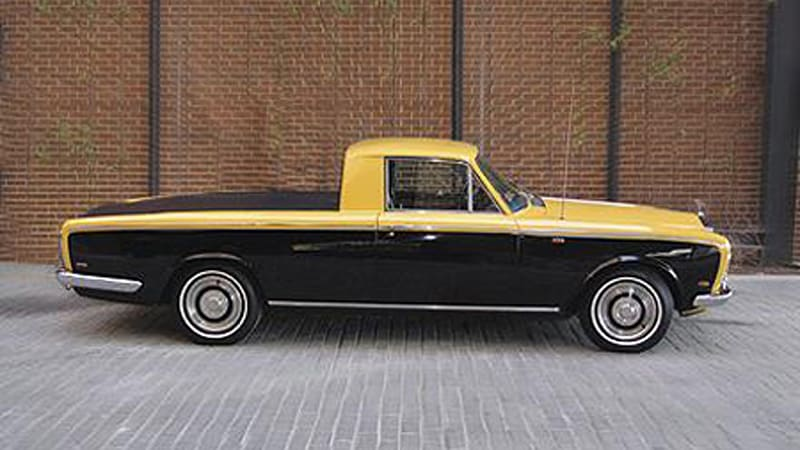 Pricey Pickup 1969 Rolls Royce Silver Shadow Truck For