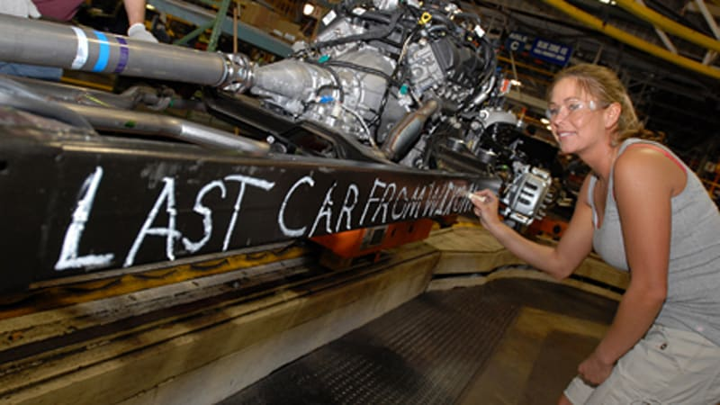 Ford S Wixom Plant Heads To The Great Assembly Line In The