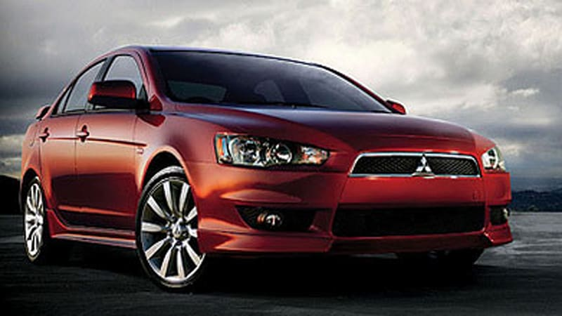 dealers sell out mitsubishi lancer gts autoblog. Black Bedroom Furniture Sets. Home Design Ideas