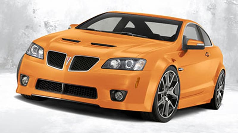 Pontiac G8 Gxp Coupe Being Considered Autoblog