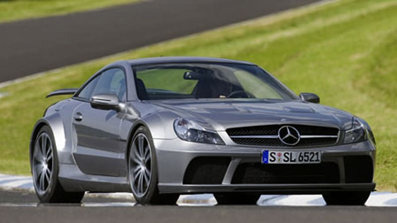Schnell mercedes benz sl65 amg black series autoblog for Mercedes benz sl65 amg black series for sale