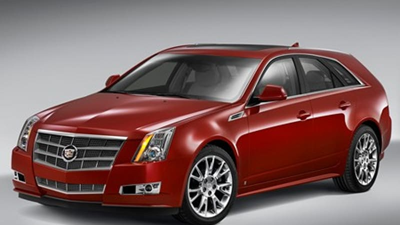 Pre Owned Cadillac Cts V Monterey 2008: Cadillac unveils 2010 CTS Sport Wagon - Autoblog