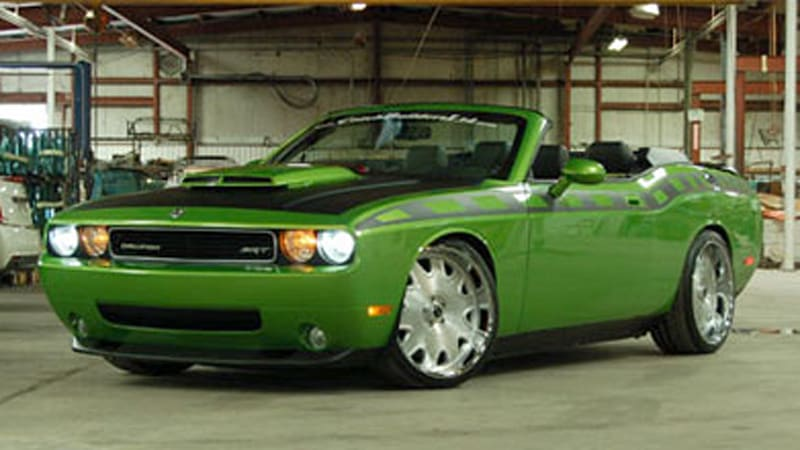 2015 Dodge Challenger Convertible Sema preview: 560-hp challenger