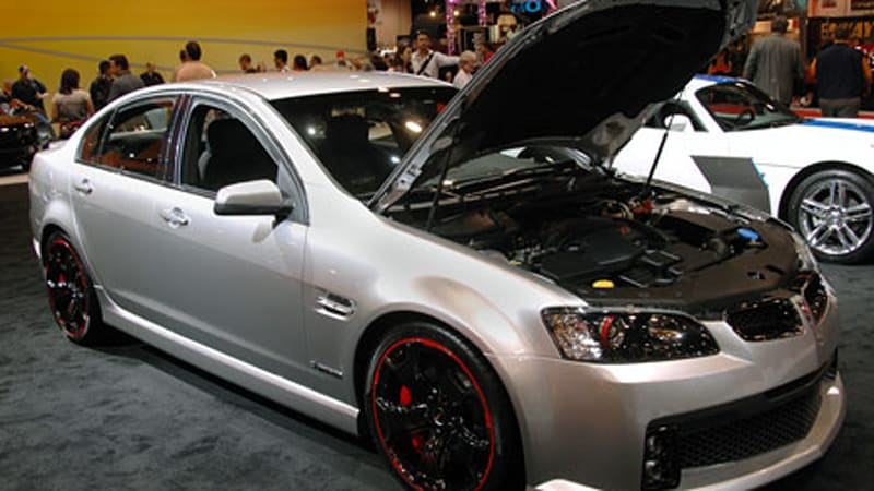 Sema 2008 Pontiac G8 Gxp Street Concept Gets Rave Reviews