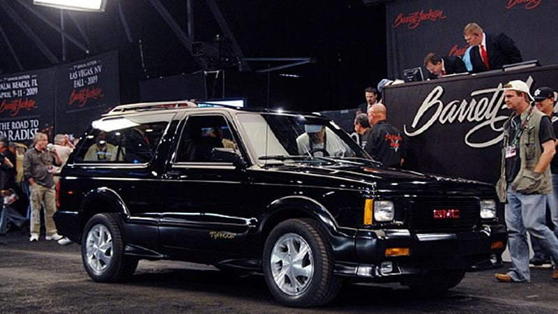 Barrett Jackson 2009 Final 1993 Gmc Typhoon Autoblog