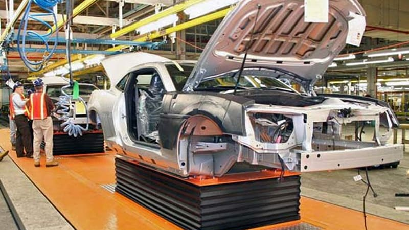Pre Production Chevy Camaros Begin Rolling Off Oshawa