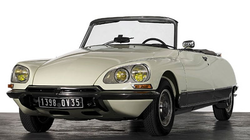 rare citroen ds convertible feches 440k at retromobile auction autoblog. Black Bedroom Furniture Sets. Home Design Ideas