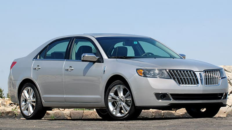 first drive 2010 lincoln mkz a solid performer gets a makeover autoblog. Black Bedroom Furniture Sets. Home Design Ideas
