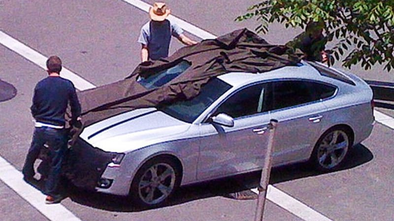 Spy Shots: 2010 Audi A5 Sportback reveals even more in So. Cal ...