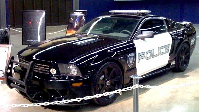 transformers barricade saleen mustang sold at auction. Black Bedroom Furniture Sets. Home Design Ideas