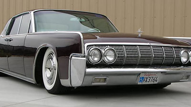 ebay find of the day gorgeous 1964 lincoln continental has a 723 hp secret autoblog. Black Bedroom Furniture Sets. Home Design Ideas