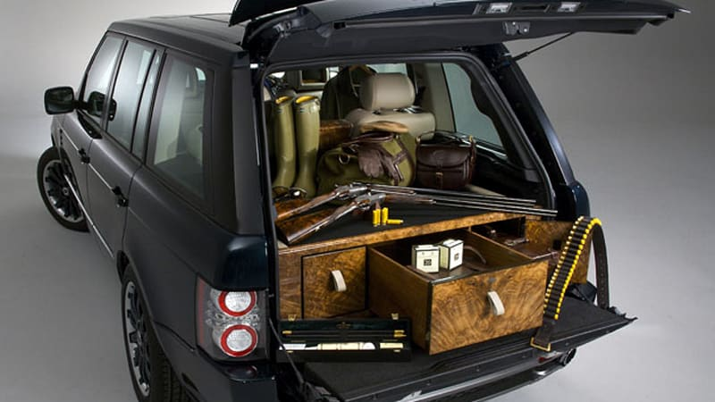 holland holland range rover by overfinch gun and booze hauling reaches its zenith autoblog. Black Bedroom Furniture Sets. Home Design Ideas