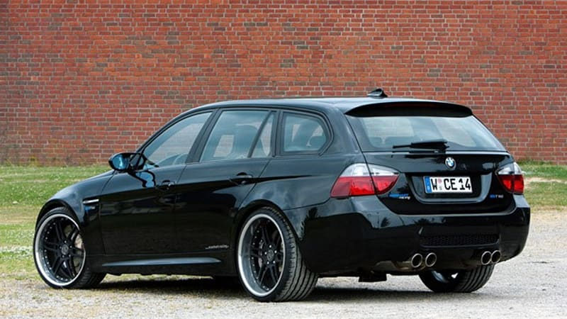 German Tuner Builds V10 Powered Bmw M3 Wagon Autoblog