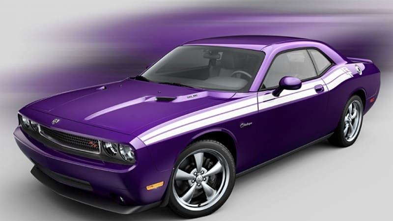 dodge challenger goes plum crazy purple for 2010 autoblog. Cars Review. Best American Auto & Cars Review