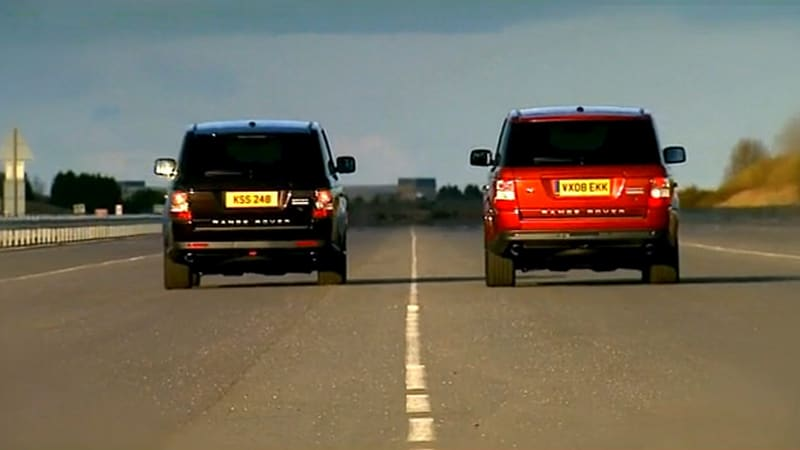 VIDEO Year Over Year 2010 Range Rover Sport destroys