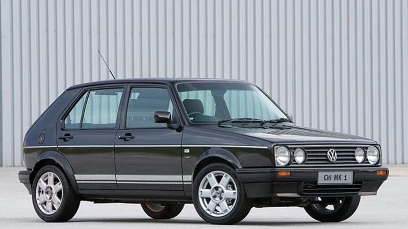 They still make that? VW Golf Mk1 ends production after 25 years ...