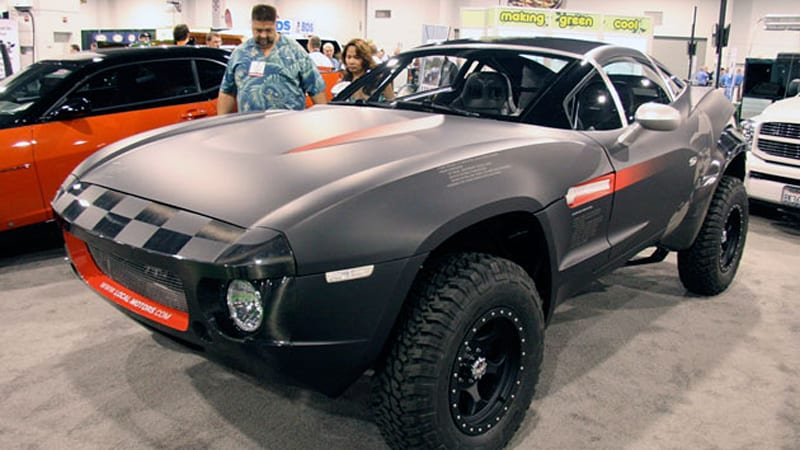 SEMA 2009: Local Motors Rally Fighter touches down in ...