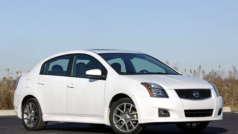 Review 2010 Nissan Sentra Se R Is A Tall Order Autoblog