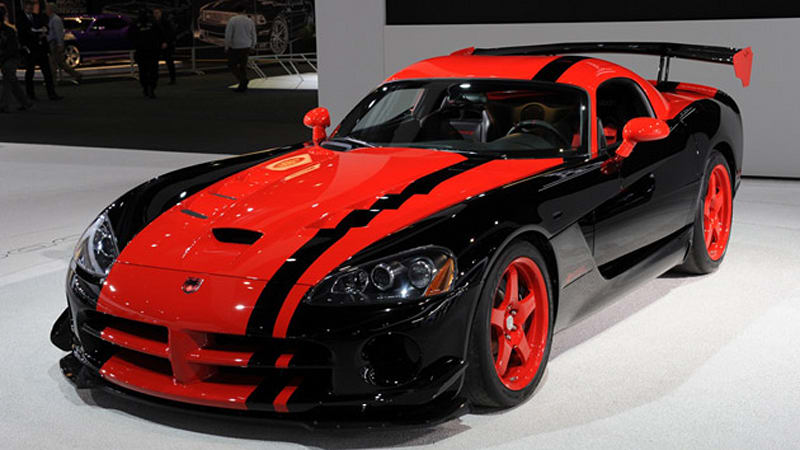 Detroit 2010 Dodge Viper ACR 133 Edition A Fitting End