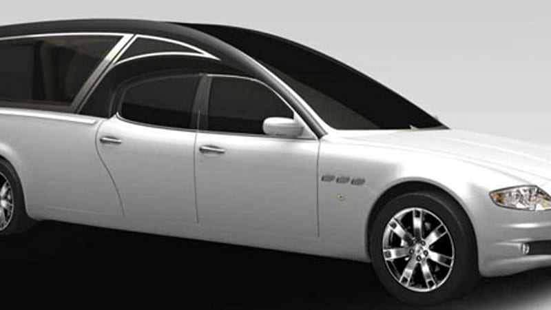 Ouch, that Hearse! Maserati Quattroporte works the ...