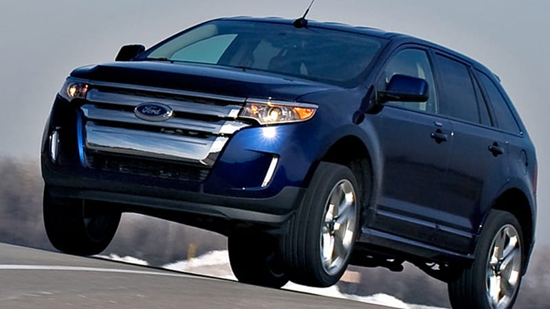 The Vehicles Affected By This Takata Action Are   Ford Edge