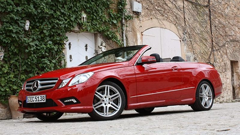 First drive 2011 mercedes benz e class cabriolet is a for 2010 mercedes benz e350 convertible for sale