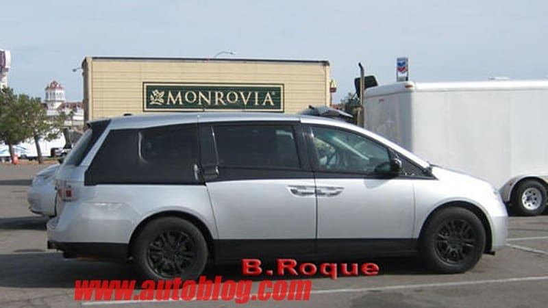 reader spy 2011 honda odyssey out and about autoblog. Black Bedroom Furniture Sets. Home Design Ideas