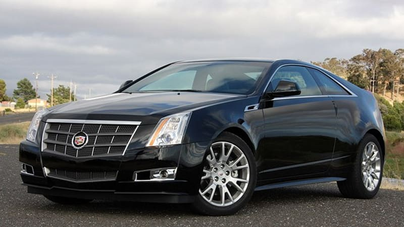 Used Cadillac Cts Coupe >> First Drive: 2011 Cadillac CTS Coupe is audacity in motion - Autoblog
