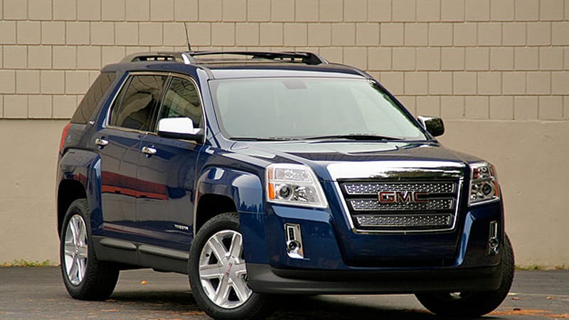 Review 2010 Gmc Terrain A Tale Of Two Engines Autoblog