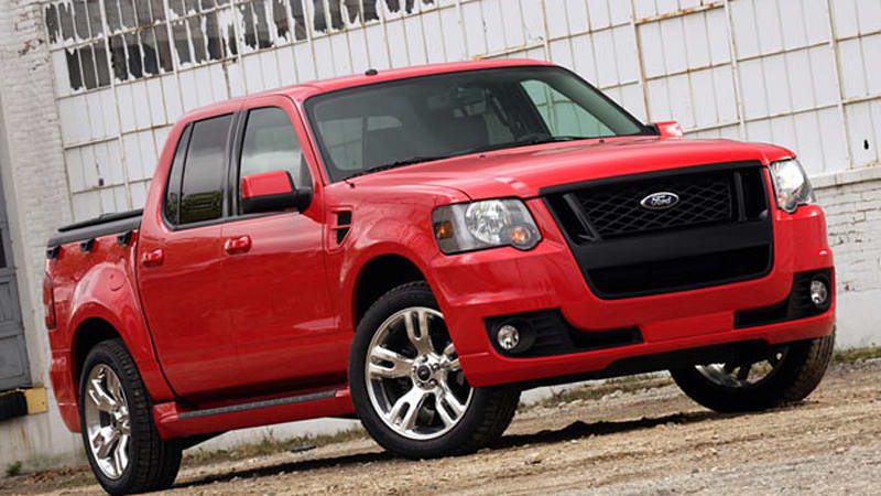 unsurprising news of the day ford explorer sport trac is toast autoblog. Black Bedroom Furniture Sets. Home Design Ideas