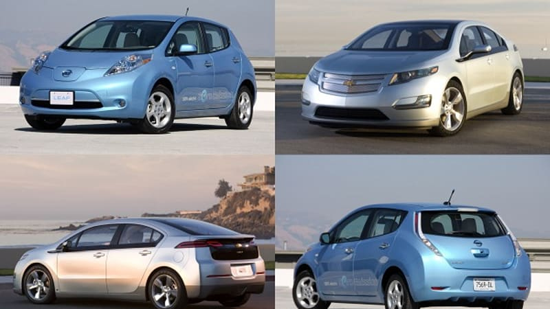 nissan leaf vs chevy volt debate goes national public. Black Bedroom Furniture Sets. Home Design Ideas