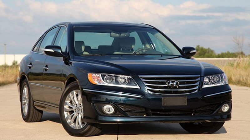 Review 2011 Hyundai Azera Limited Autoblog