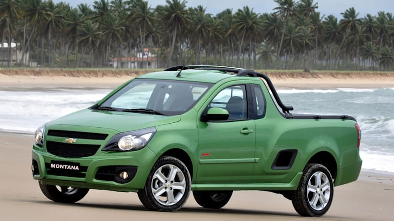 2011 Chevrolet Montana Compact Truck Unveiled In South
