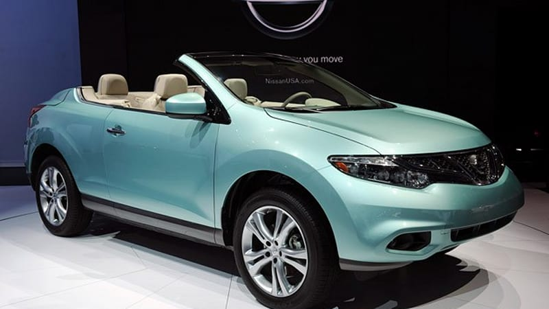 la 2010 nissan murano crosscabriolet debuts with 46 390 price tag autoblog. Black Bedroom Furniture Sets. Home Design Ideas