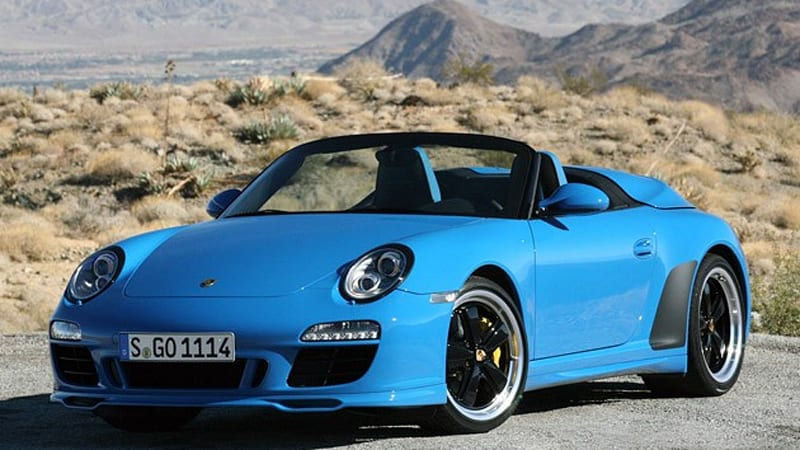first drive 2011 porsche 911 speedster autoblog. Black Bedroom Furniture Sets. Home Design Ideas