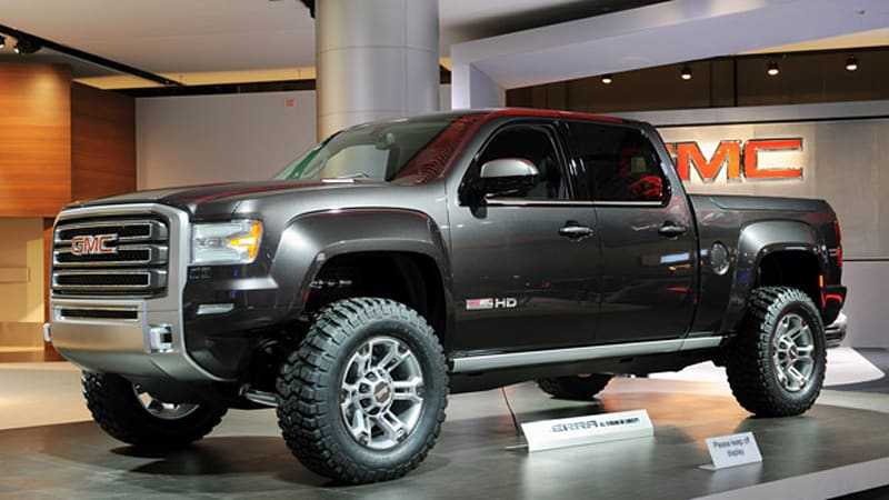 gmc sierra all terrain hd concept being considered for production autoblog. Black Bedroom Furniture Sets. Home Design Ideas